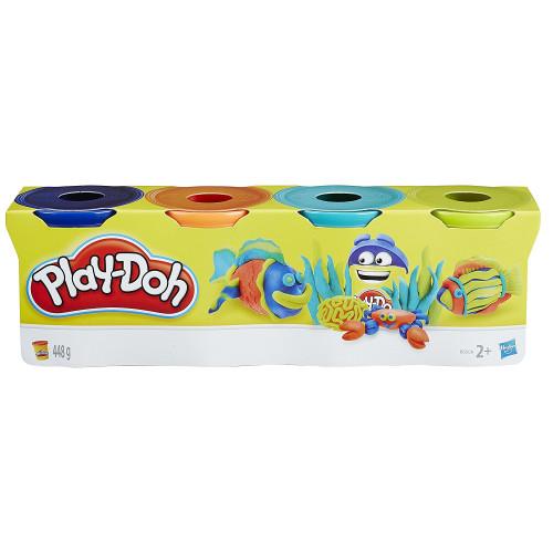 Play-Doh 4 Tub Pack B6509