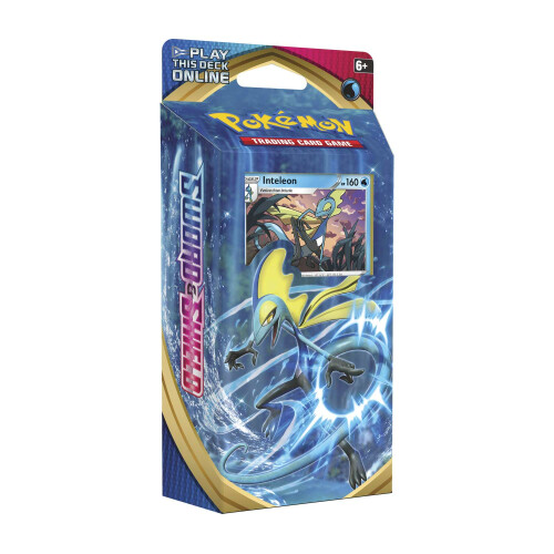 Pokemon TCG Sword & Shield Inteleon Theme Deck