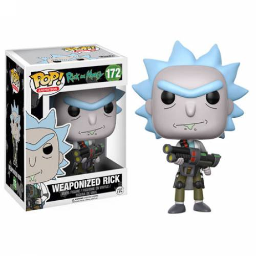 Funko Pop Vinyl Weaponized Rick 172