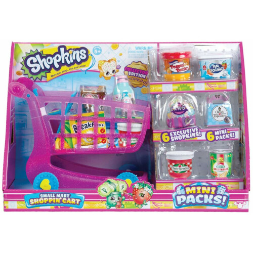 Shopkins Small Mart Shopping Cart