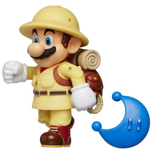 Super Mario 4 Inch Figures - Explorer Mario