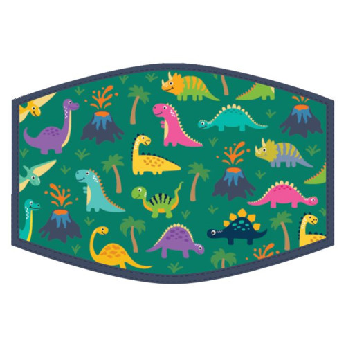 Washable Face Protector - Kids Size - Dinosaurs