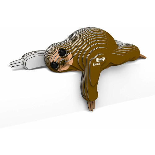 Eugy - 3D Model Craft Kit - Sloth