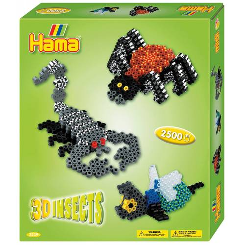 Hama Beads 3239 Gift Box 3D Insects