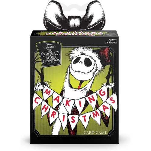The Nightmare Before Christmas - Making Christmas Card Game