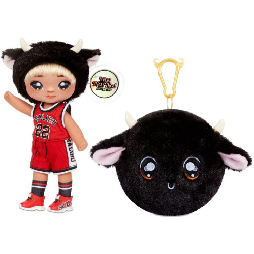 Na Na Na Surprise 2-in-1 Fashion Doll And Plush Purse - Series 4 - Tommy Torro
