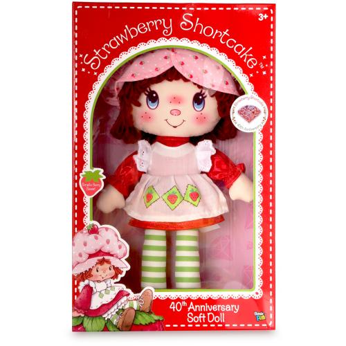 Strawberry Shortcake 40th Anniversary Soft Doll