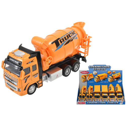 Tranzmasters Die Cast Pull Back Construction Vehicles