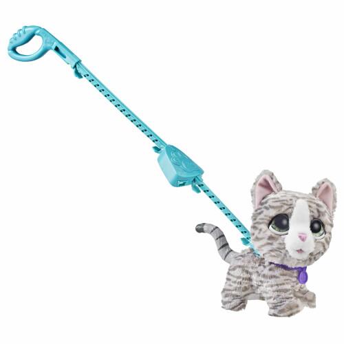 Fur Real Walkalots Grey Kitten
