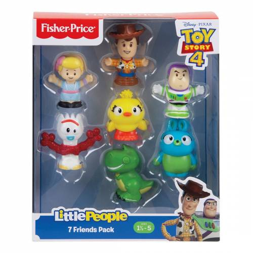 Toy Story 4 Fisher Price Little People 7 Friends Pack