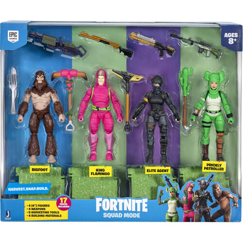Fortnite Squad Mode Core Figure Pack