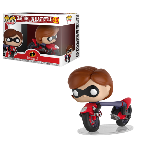 Funko Pop Vinyl Elastigirl On Elasticycle