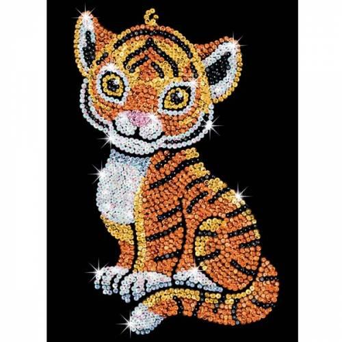 Sequin Art Ltd. Sequin Art Red Tia the Tiger 1413