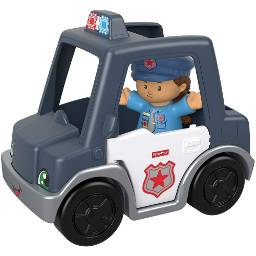 Fisher Price Little People Vehicle and Figure - Police Car