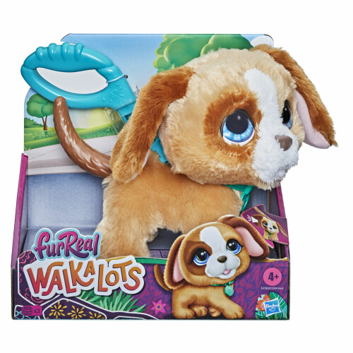 Fur Real Walkalots Brown Puppy