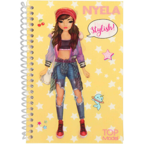 Depesche Top Model Dress Me Up Pocket Stickerbook - Nyela