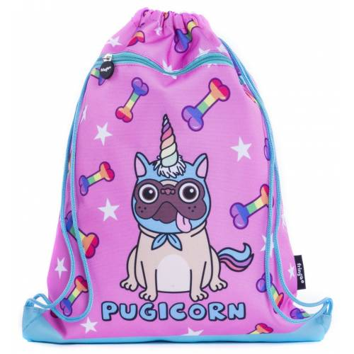 Drawstring Bag - Pugicorn