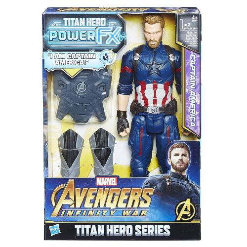 Avengers Titan Hero Series Power FX Captain America
