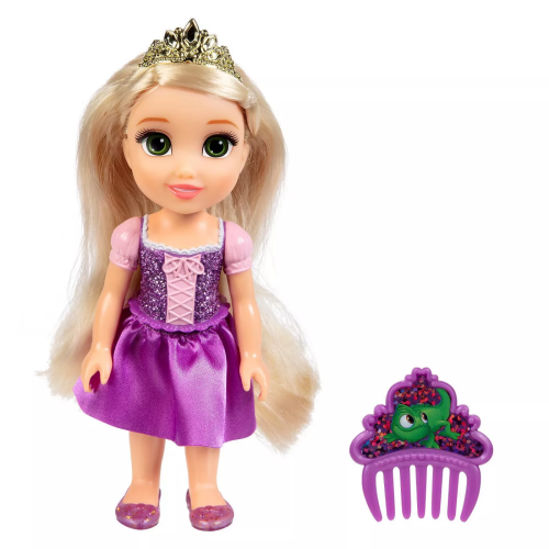 Disney Princess - Petite Glittered Rapunzel & Comb