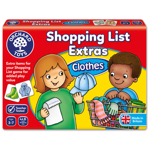 Orchard Shopping List Booster - Clothes
