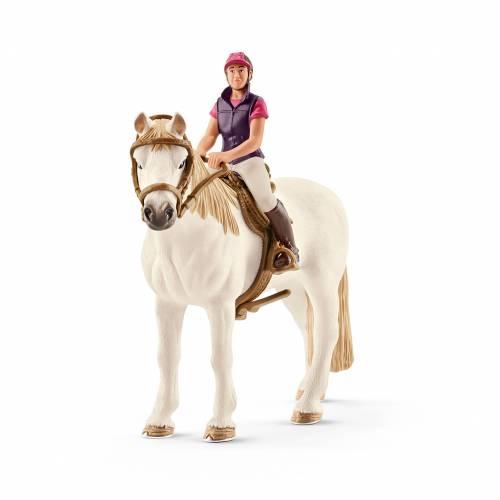 Schleich Horse Club 42359 Recreational Rider with Horse