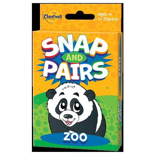 Snap And Pairs Zoo