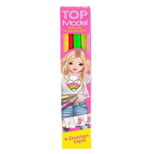 Depesche Top Model 4 Neon Colouring Pencils
