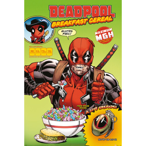 Maxi Posters - Deadpool (Cereal)