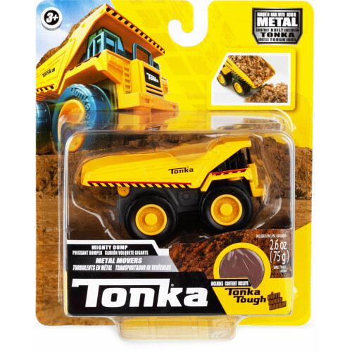 Tonka Metal Movers with Tonka Tough Dirt - Mighty Dump