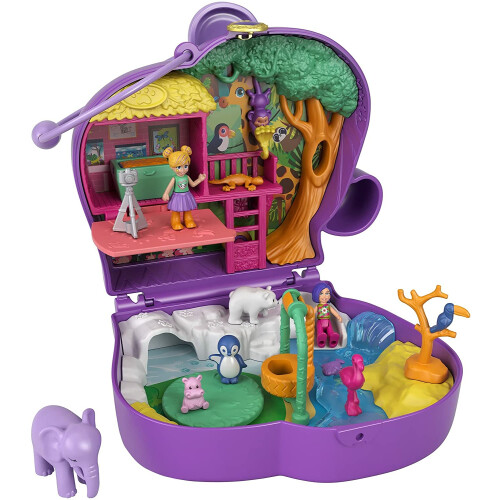 Polly Pocket Elephant Adventure Compact