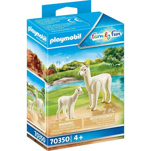 Playmobil 70350 Family Fun Alpaca with Baby