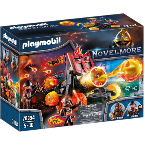 Playmobil 70394 Novelmore Burnham Raiders Lava Catapult