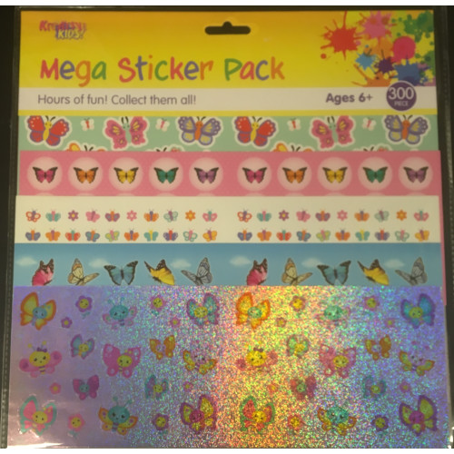 Mega Sticker Pack - Butterflies