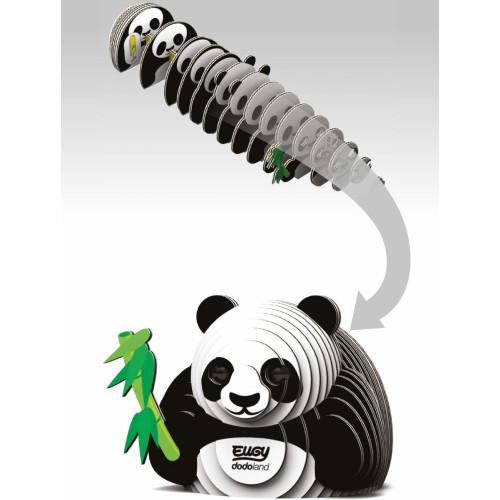 Eugy - 3D Model Craft Kit - Panda