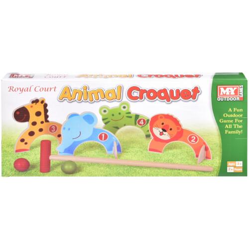 Animal Croquet Set