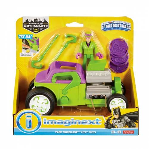 Imaginext DC Super Friends The Riddler Hot Rod