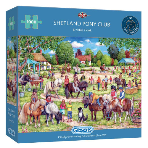 Gibsons Shetland Pony Club 1000pc Puzzle