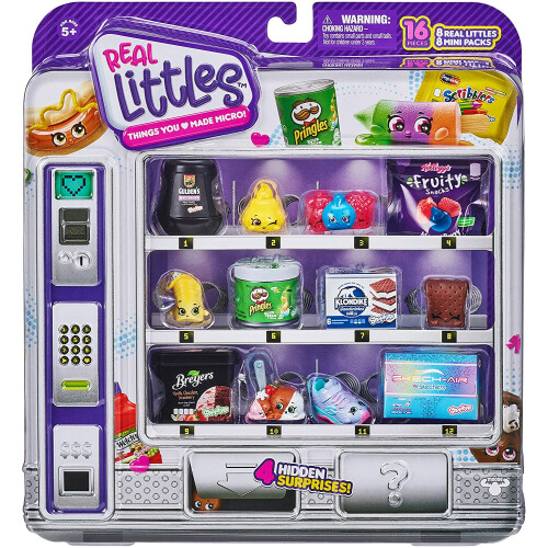Shopkins Real Littles Vending Machine - Shopper Pack