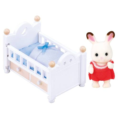 Sylvanian Families Chocolate Rabbit Baby Set