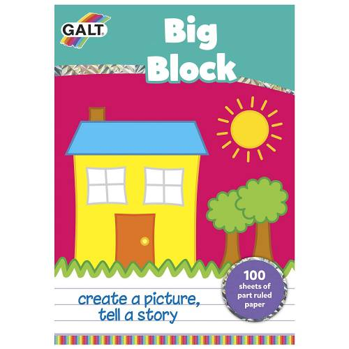 Galt Big Block Sheet Pad - 100 Pieces