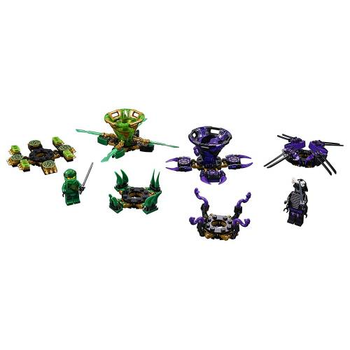 Lego 70664 Ninjago Spinjitzu Lord Garmadon and Lloyd