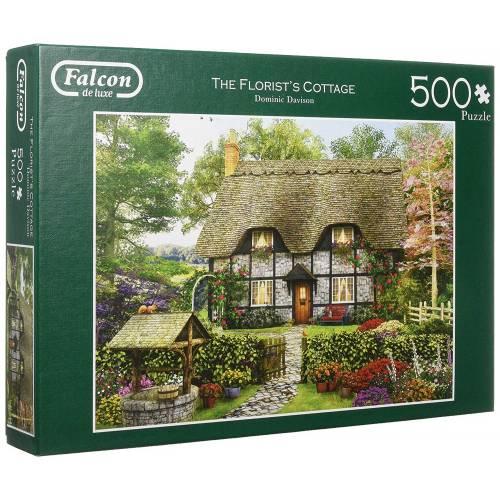 Falcon de luxe The Florist's Cottage 500pc Jigsaw Puzzle