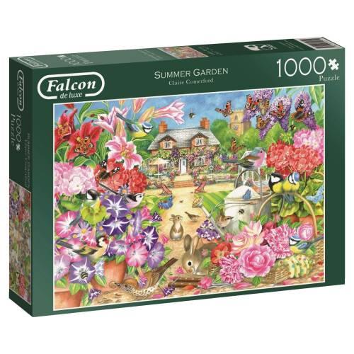 Falcon de luxe Summer Garden 1000pc Jigsaw Puzzle