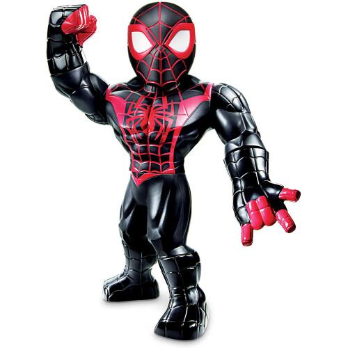 Mega Mighties Marvel Super Hero Adventures Miles Morales Spider-man