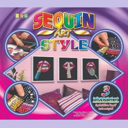 Sequin Art - Style