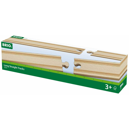 Brio 33341 Long Straight Tracks