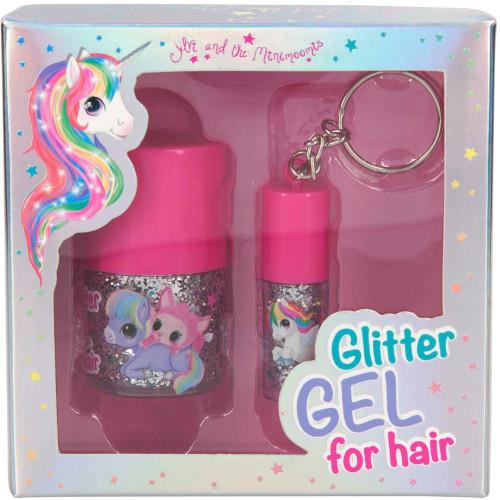 Depesche Ylvi & the Minimoomis Glitter Gel for Hair
