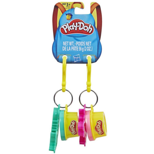 Play-Doh Clip-on Set - Unicorn & Mermaid