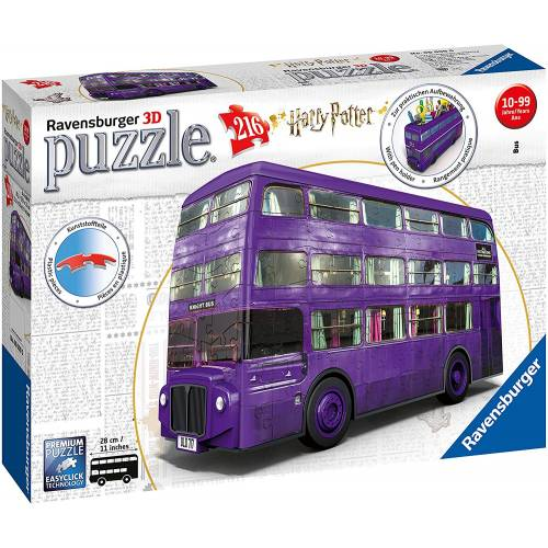 Ravensburger 216pc 3D Jigsaw Puzzle Harry Potter Knight Bus