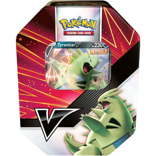 Pokemon TCG: V Strikers Tin-Tyranitar
